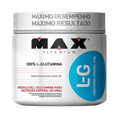 L-Glutamina L-G (300g) - Max Titanium
