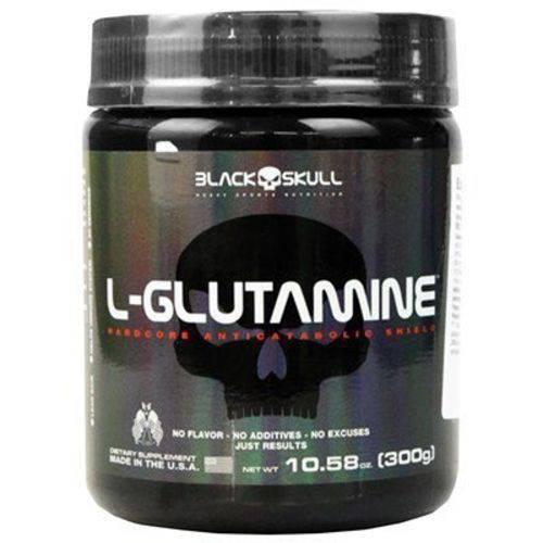 L Glutamine 300g Black Skull