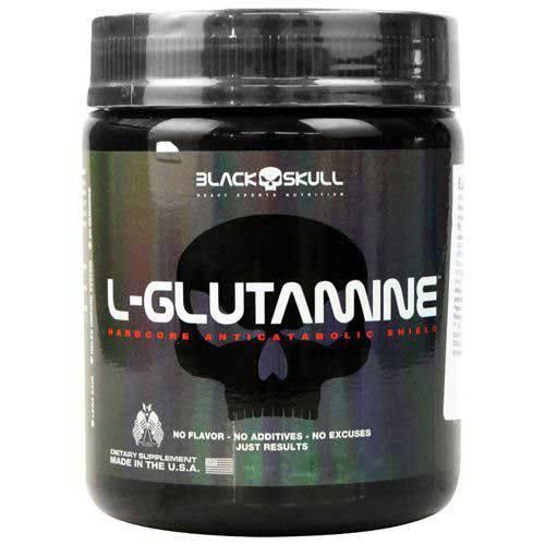 L-Glutamine - 500g - Black Skull