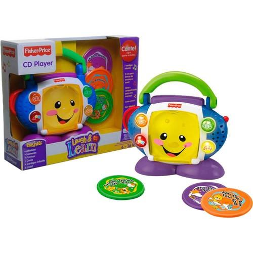 L&l - Cd Player Aprender e Brincar Mattel