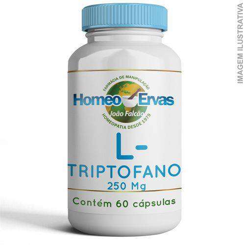 L-triptofano 250mg 60 Cápsulas