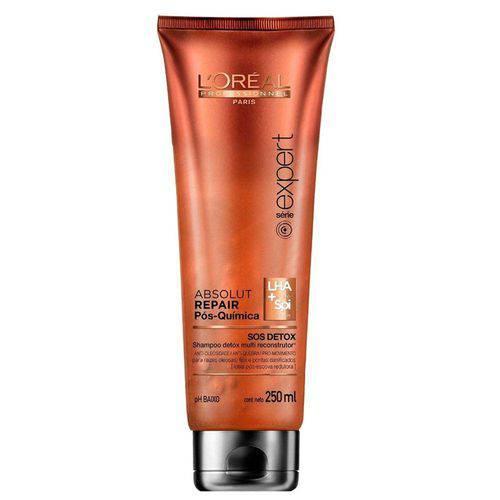 L'oreal Absolut Repair Pós Quimica S.O.S Detox Shampoo 250 Ml