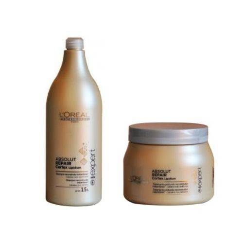 L'oréal Absolut Repair - Shampoo 1,5 Lts e Máscara 500ml