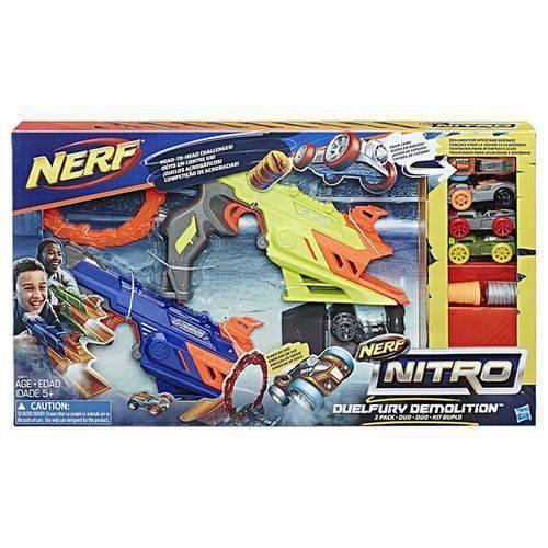 Laçadores Nerf Nitro Duelfury Demolition C0817 Hasbro