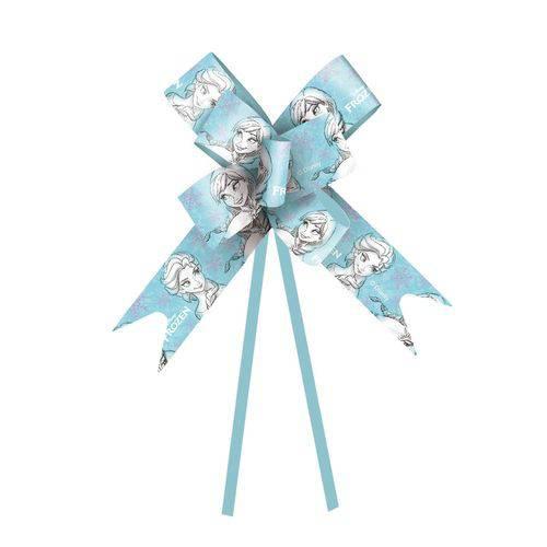 Laço Pronto Embalagem Presente Frozen Disney Azul 18Mmc/10