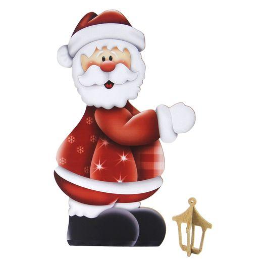 Lális - Papai Noel com Arandela