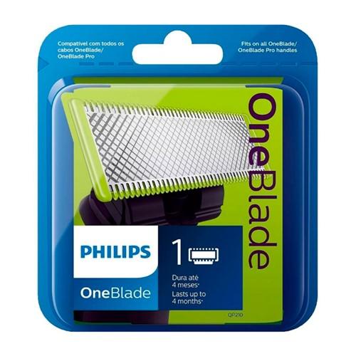 Lâmina One Blade Philips Refil Ref: QP210/50 com 1 Unidade