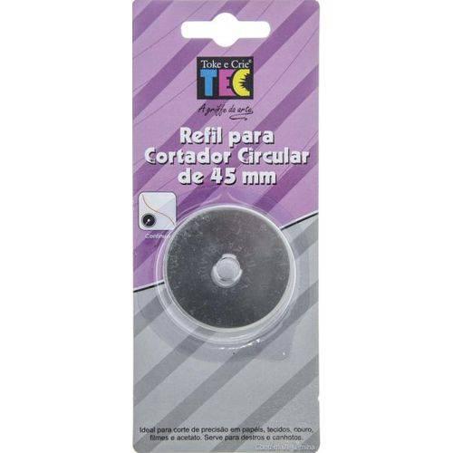 Lâmina Refil P/ Cortador Circular 45mm Toke e Crie