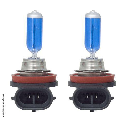 Lampada Automotiva Multilaser H16 12v Super Branca 55w (par)