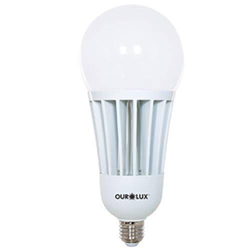 Lâmpada Bulbo 65w Led Bivolt Luz Branca 6500k - Ourolux