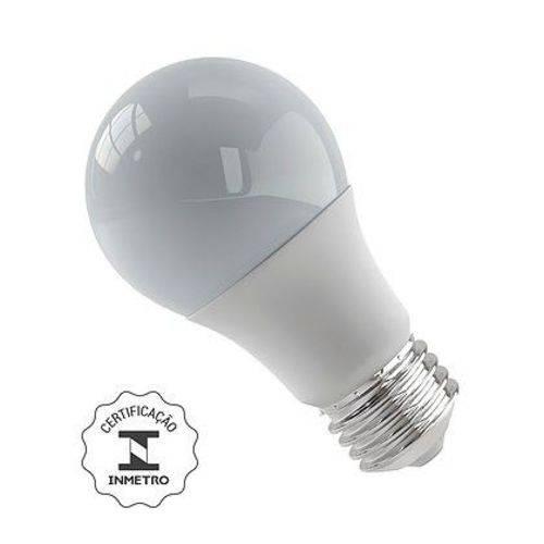 Lâmpada Bulbo LED 9W 3000K E27 Bivolt Luminatti