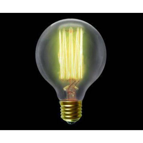 Lâmpada de Filamento de Carbono G 80 40W