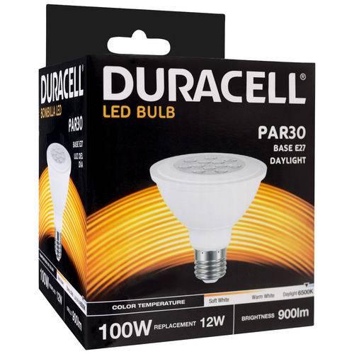 Lâmpada de Led Duracell Branca Par30 12w - Duracell