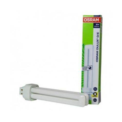 Lâmpada Dulux D/e 26w 2700k 4pinos (luz Amarela)g4q-3 Osram