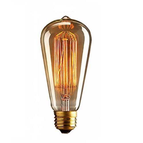 Lâmpada em Filamento de Carbono St64 110v