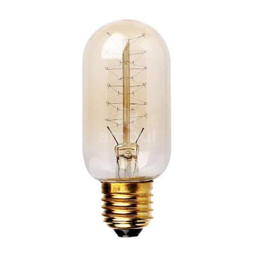Lâmpada Filamento de Carbono 40w 110v E27 T45