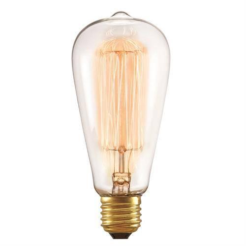 Lâmpada Filamento de Carbono 40w 220v E27 Taschibra St64