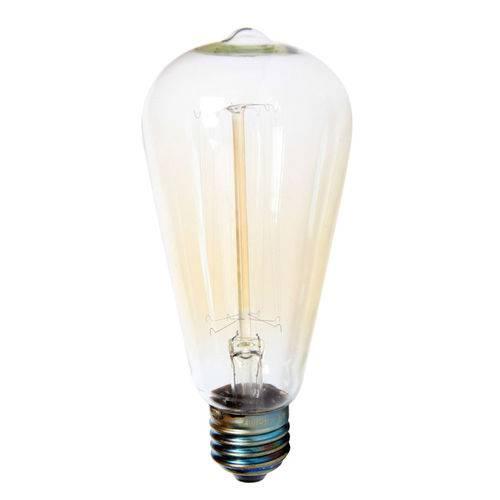 Lâmpada Filamento de Carbono 40w 110v E27 Taschibra St64