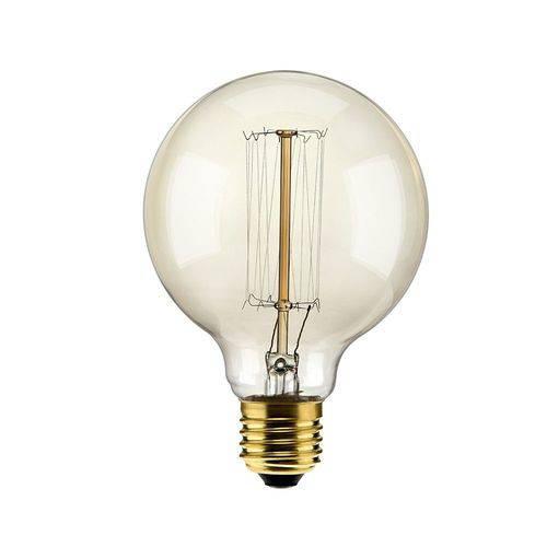 Lampada Filamento de Carbono 40w 127v 2000k