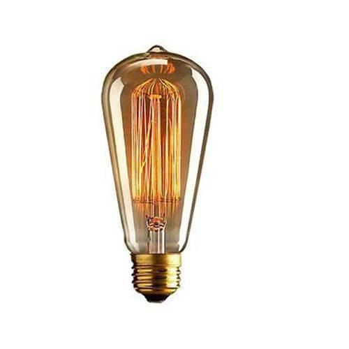 Lâmpada Filamento de Carbono St 64 - 220v