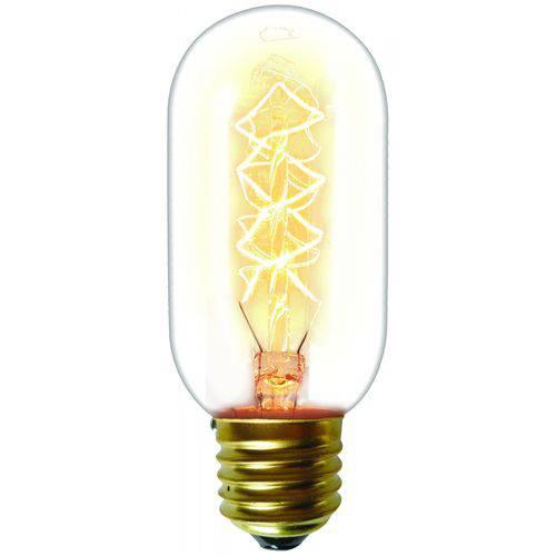 Lâmpada Filamento de Carbono T45 Taschibra 220v Luz Amarela - Caixa com 10,00 Unidade - 2200k