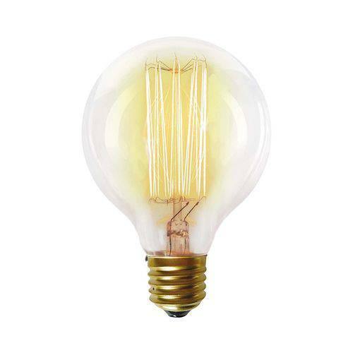 Lâmpada Filamento de Carbono Taschibra G80 40w 220v