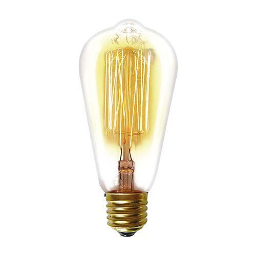 Lâmpada Filamento de Carbono Taschibra St64 40w 220v