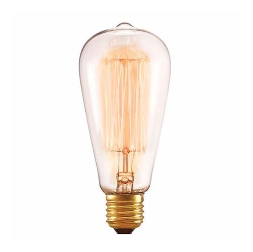 Lâmpada Filamento do Carbono ST64 40W - Taschibra - Taschibra