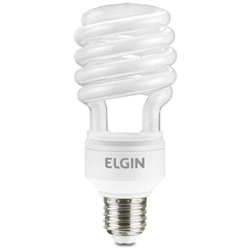 Lâmpada Fluorescente Compacta Espiral 25w 110v 48LES25WB003 Elgin