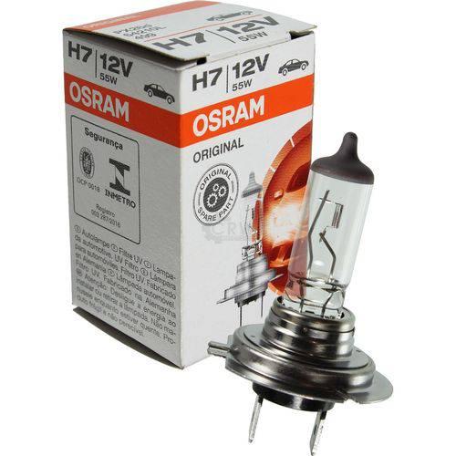 Lampada H7 Classic Osram Original Automotiva Halogena