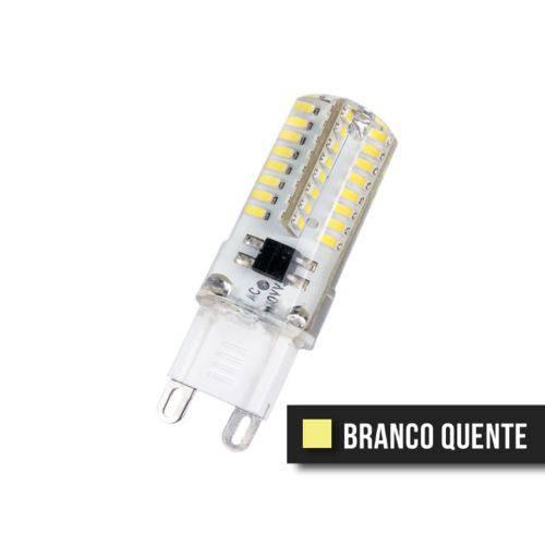 Lampada Halopin Led G9 4,5w 127v Branco Quente
