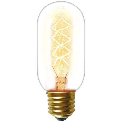 Lâmpada Incandescente Taschibra 40w Filamento Carbono 127v T45