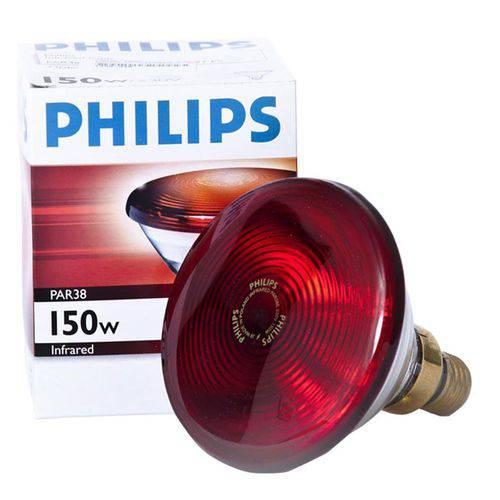Lâmpada Infravermelho Medicinal para Estética e Fisioterapia Philips