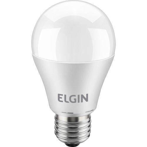 Lampada Led Bulbo 6w Bivolt 2700k Branca Elgin