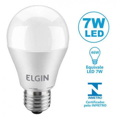 Lâmpada LED Bulbo 7W A55 Branca 6500K ELGIN
