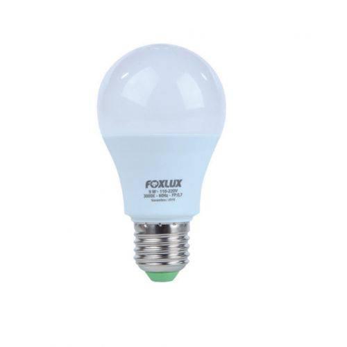 Lâmpada Led Bulbo Certificada A60 6w 3000k Biv Led90.06 - Foxlux