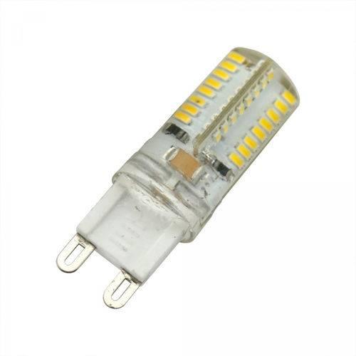 Lâmpada Led Halopin G9 4,5w 127V 3000K Branco Quente