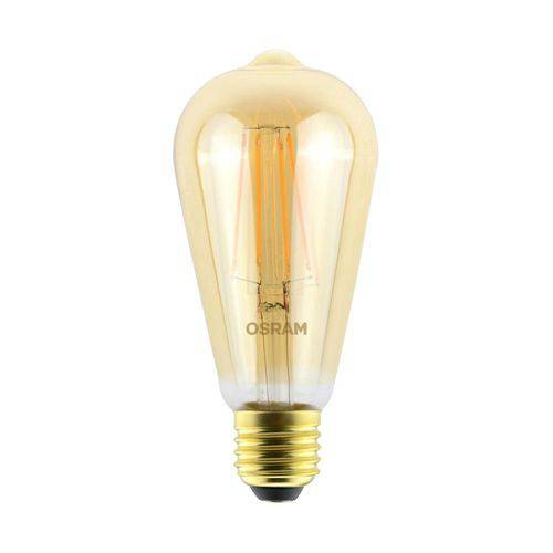 Lâmpada Led Retro 4.5w Edison Morna Osram