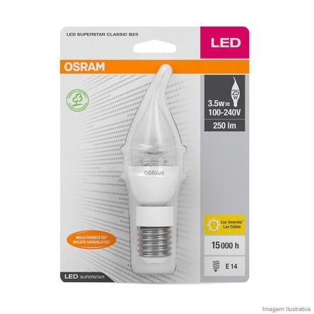 Lâmpada LED Superstar CLB25 FL 3.5W/830 E14/SOQ27 Bivolt Osram