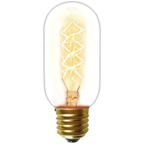 Lampada Taschibra Filamento Carbono 40w T45 E27 127v Dimerizavel