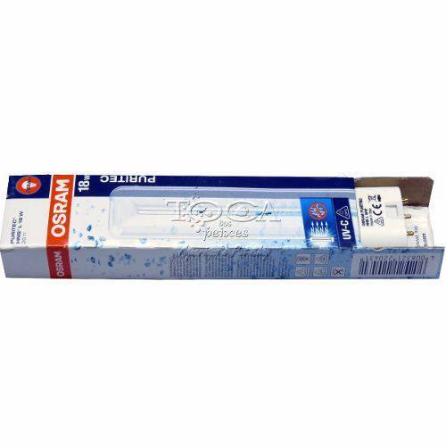 Lâmpada Uv 18w, P/ Reposição Filtro Atman, Sunsun ou Outros - Lâmpada Osram UV 18W