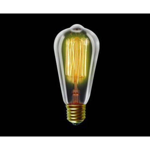Lâmpadas de Filamento de Carbono ST64 40W