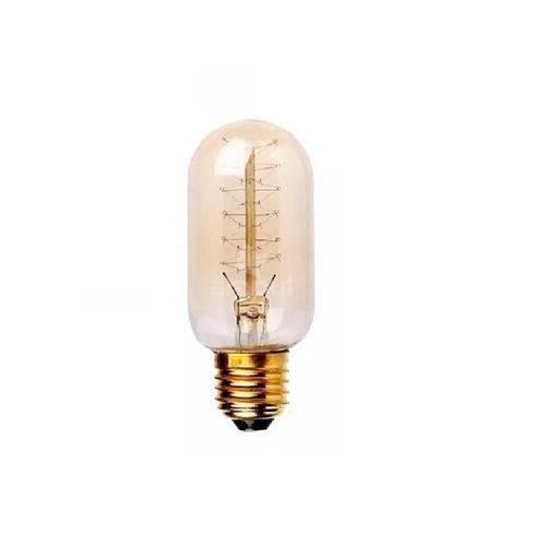 Lâmpadas Filamento Carbono Retrô T45 40w 127v Taschibra 10x