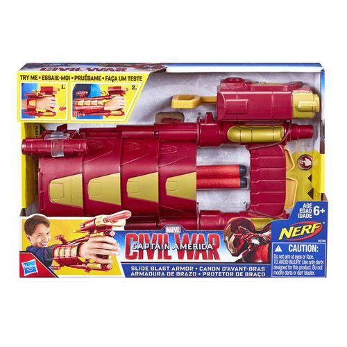 Lança Dardo Civil War Homem de Ferro Hasbro - B5785