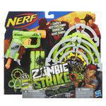 Lança Dardo Nerf Zombie com Alvos A6636 - Hasbro