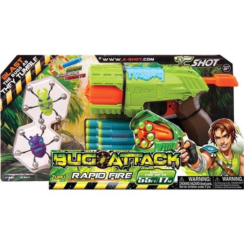 Lanca Dardos Bug Attack Rapid Fire 6 Tiros CANDIDE