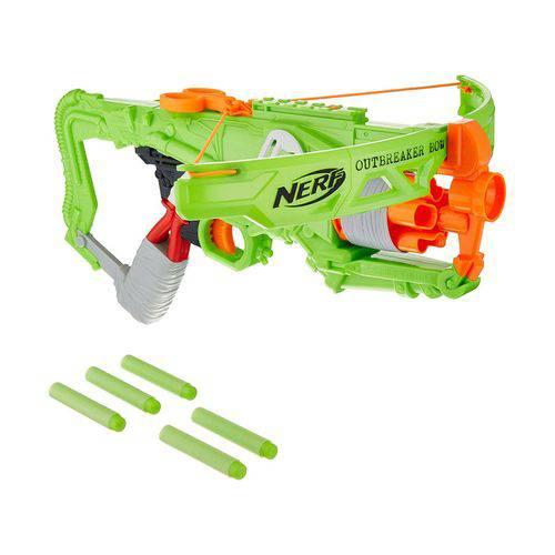 Lança Dardos Nerf - Zombie Outbreaker Bow