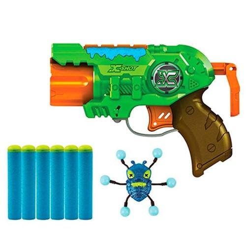 Lançador de Dardos Bug Attack Predator X-Shot Candide Verde