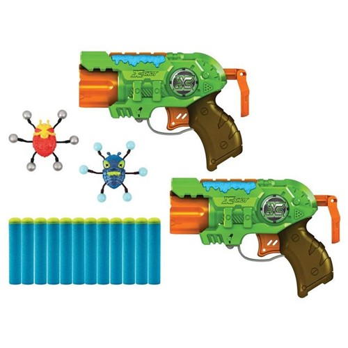Lançador de Dardos X-Shot Ataque de Insetos Candide Verde