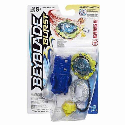 Lançador e Pião Beyblade Hasbro
